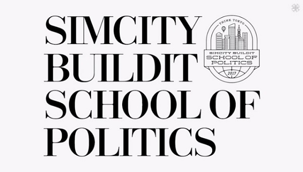 「SIMCITY BUILDIT SCHOOL of POLITICS TEXTBOOK」